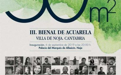 Villa de Noja Watercolor Biennial 2019 starts in the Albaicín Palace