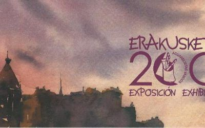 Commemoration of the 200 Exhibition of the Basque Watercolor Association